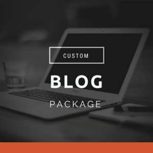 custom blog package
